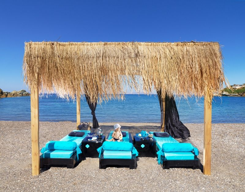 Cladissos Beach Capsis