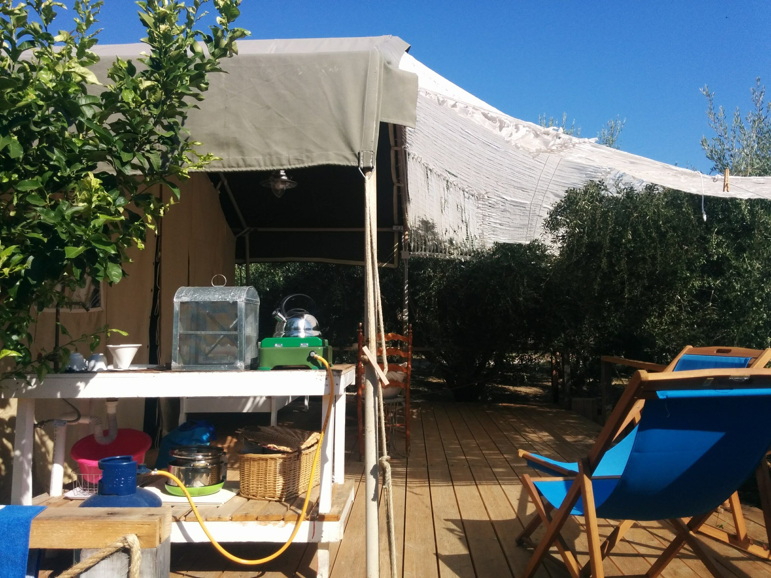 Glamping in Greece