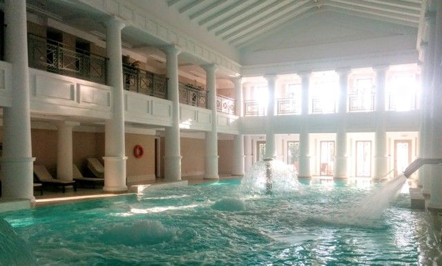 Thalasso pool at Elixir spa