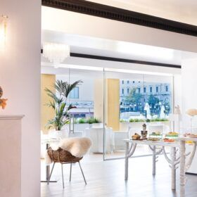 Family Lunch and Kids buffet Pallas Athena © family experiences blog