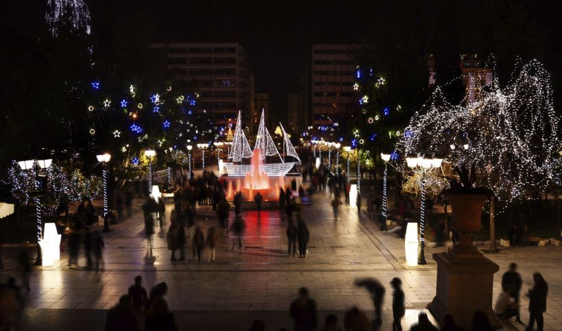 things to do during Christmas in Athens with kids