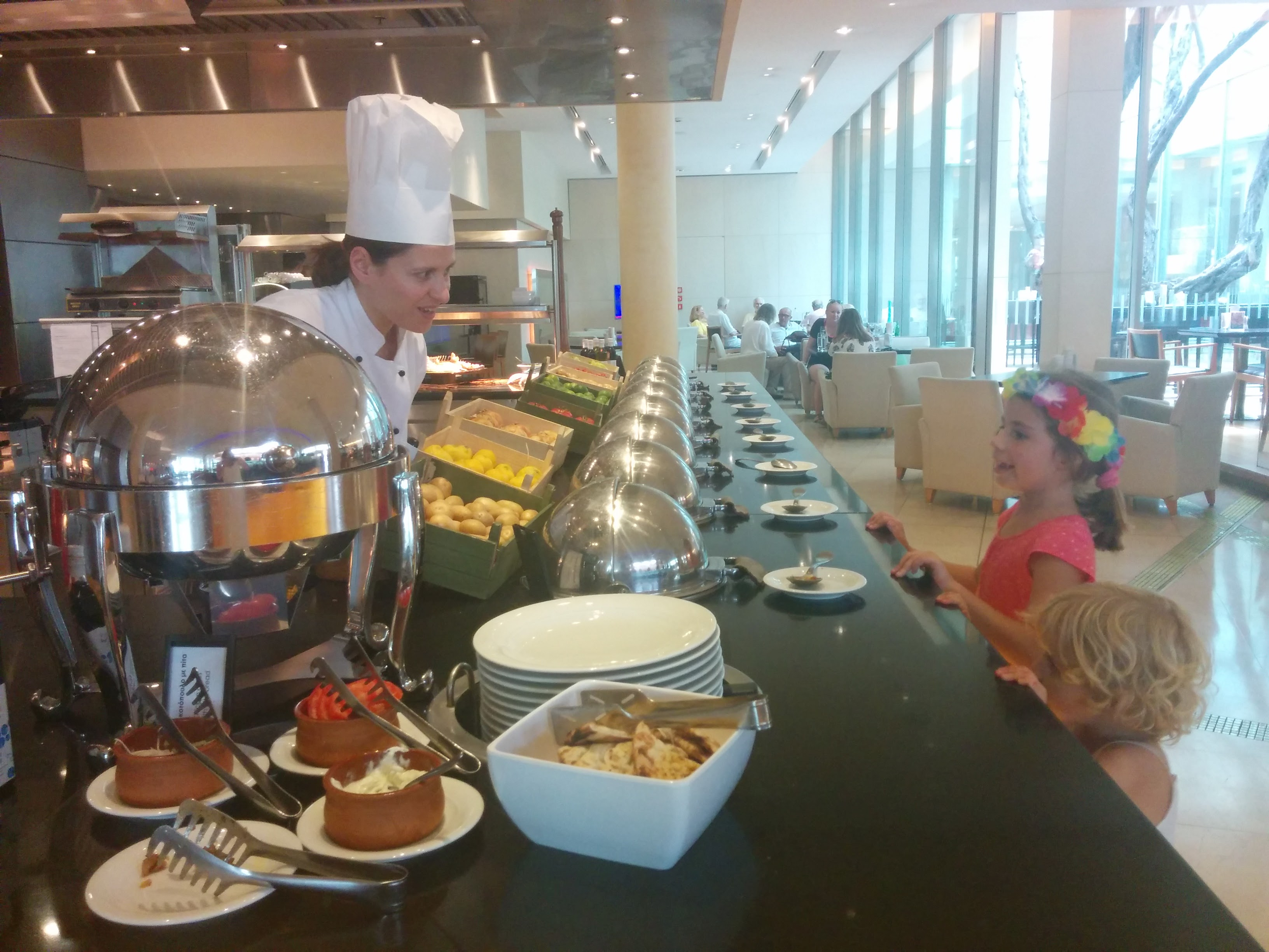 Hilton Athens Hotel Sunday Family Lunch With Kids Review