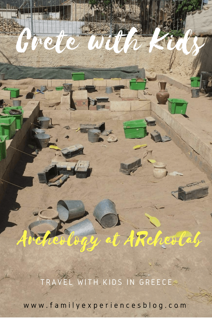 Archaeology for kids in Crete