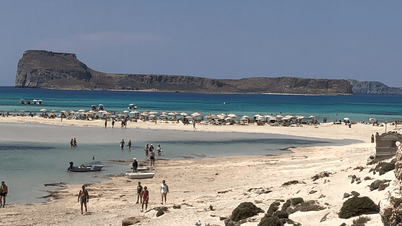 Balos and Gramvousa island Crete with Kids