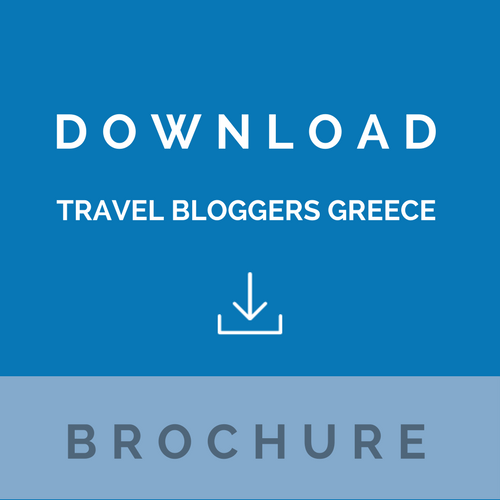 Travel Bloggers Greece brochure