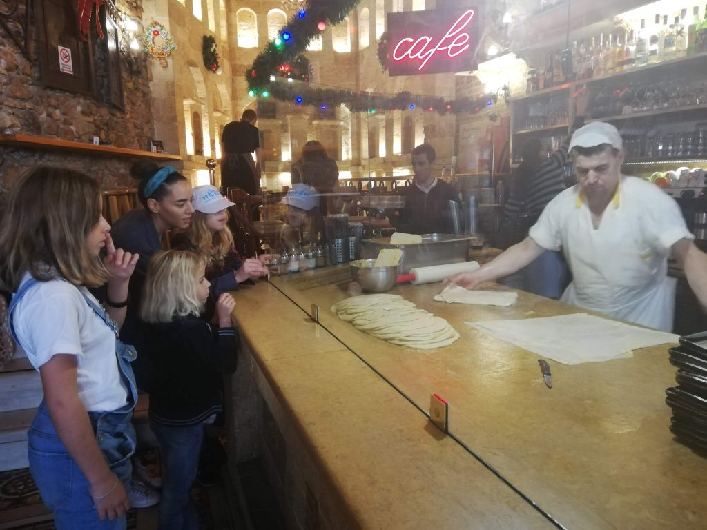 Mythology Food Tour in Athens with kids