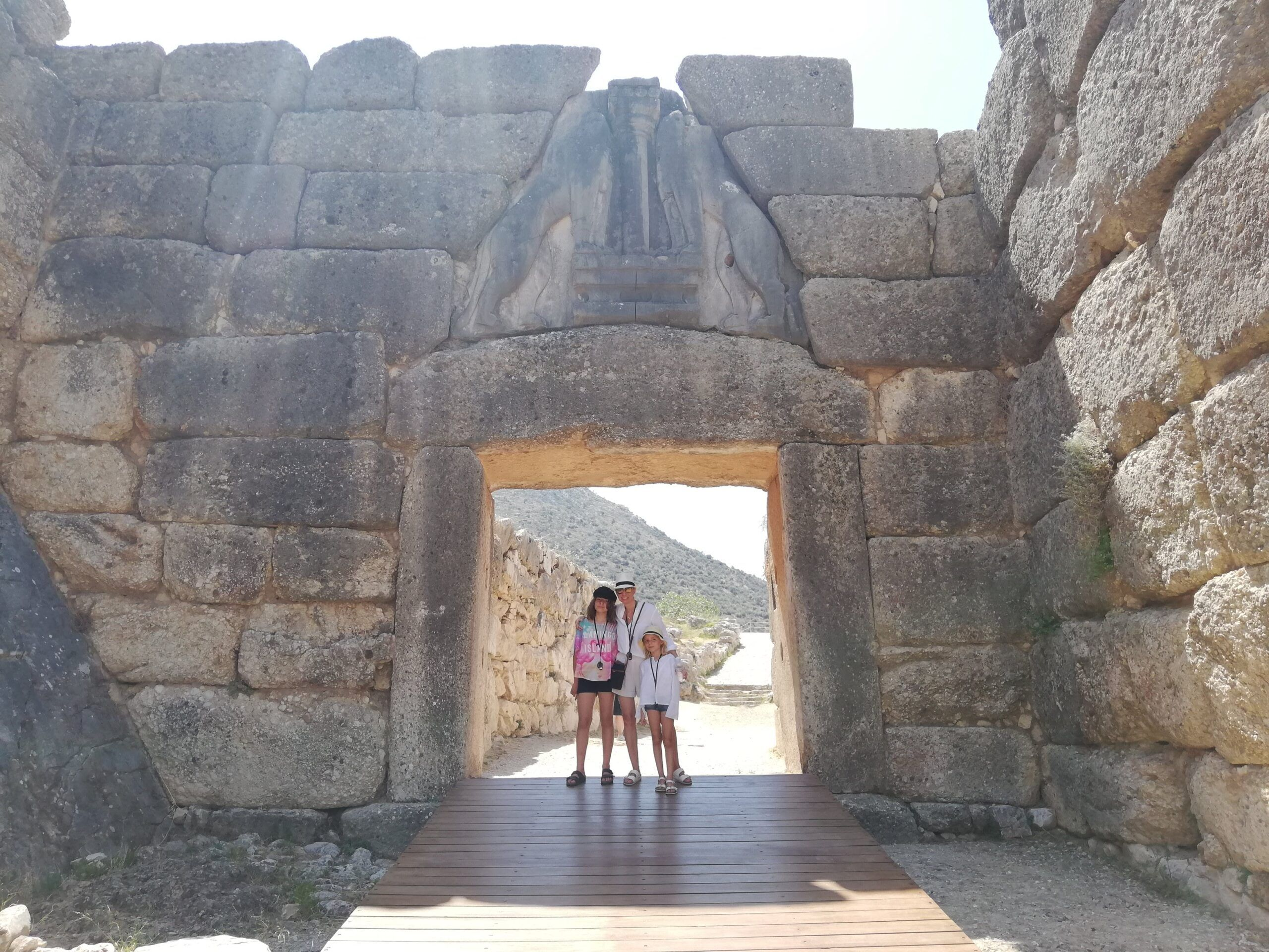 Mycenae Greece with Kids