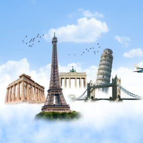 Landmarks in Europe and the UK