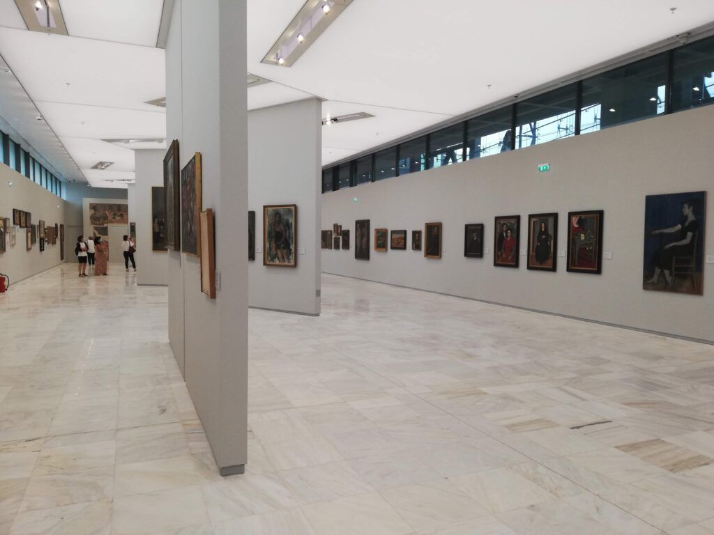 athens with kids national art gallery